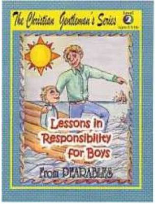 Lessons in Responsibility for Boys Level 2 by PEARABLES, ISBN: 9780979244612