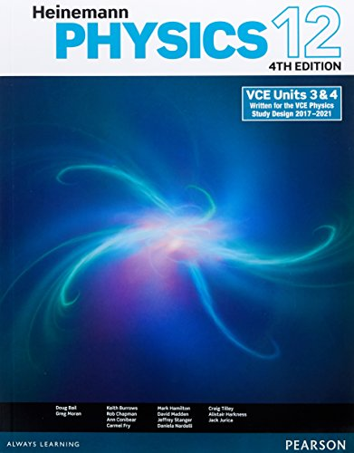 Heinemann Physics 12 Student Book + Pearson eBook 3.0