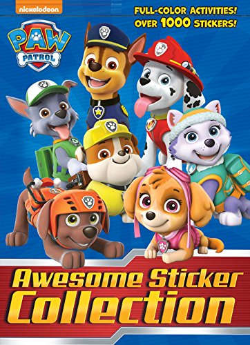 Paw Patrol Awesome Sticker Collection (Paw Patrol) (4 Color Plus 1,000 Stickers) by Golden Books, ISBN: 9781524716820