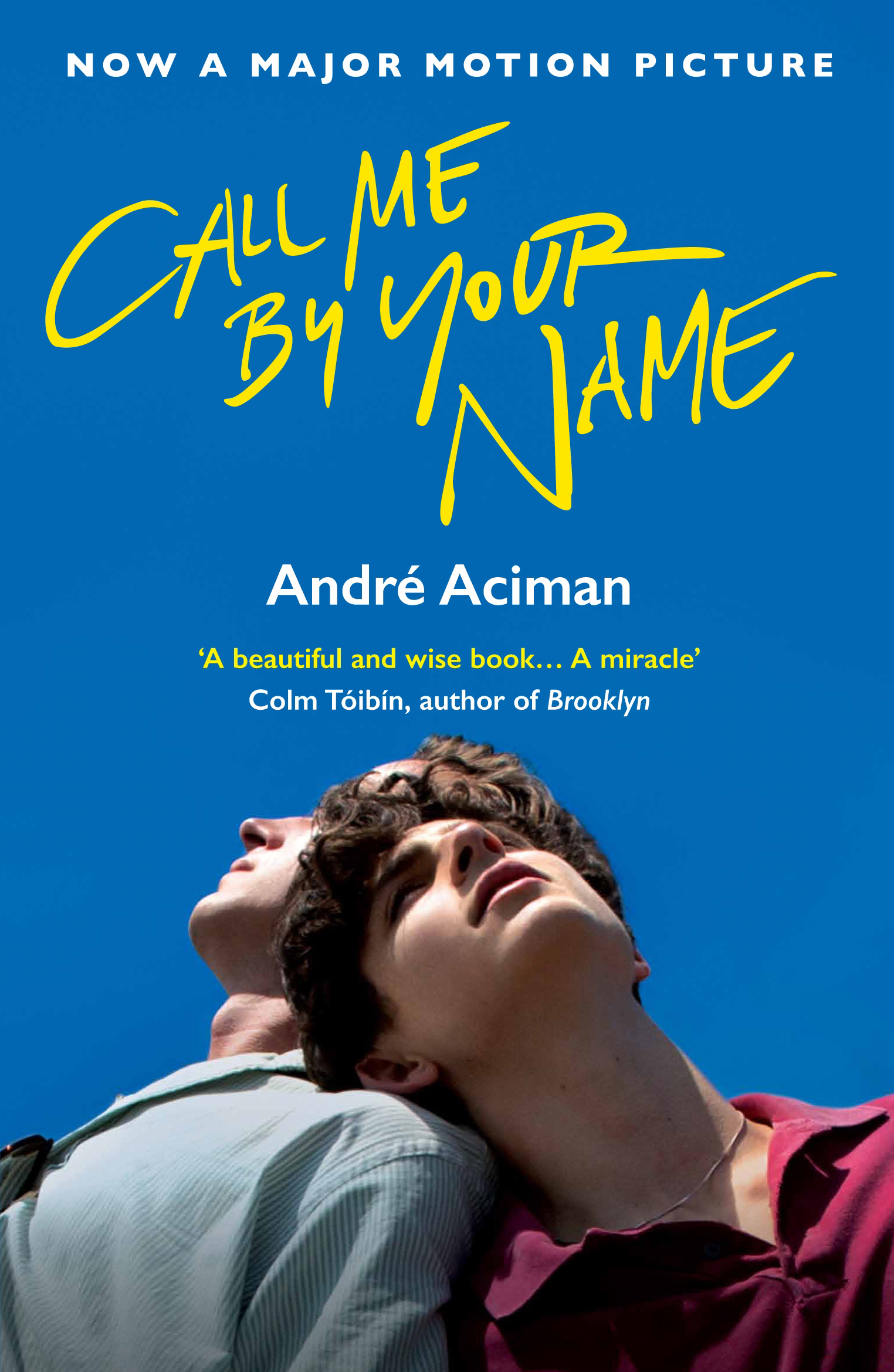 Call Me By Your Name by Andre Aciman, ISBN: 9781786495259