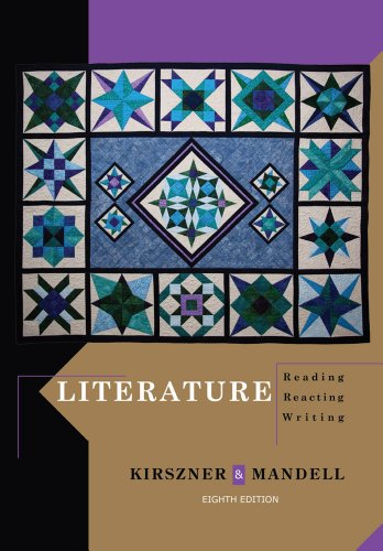 Literature by University Laurie G Kirszner, ISBN: 9781111344801
