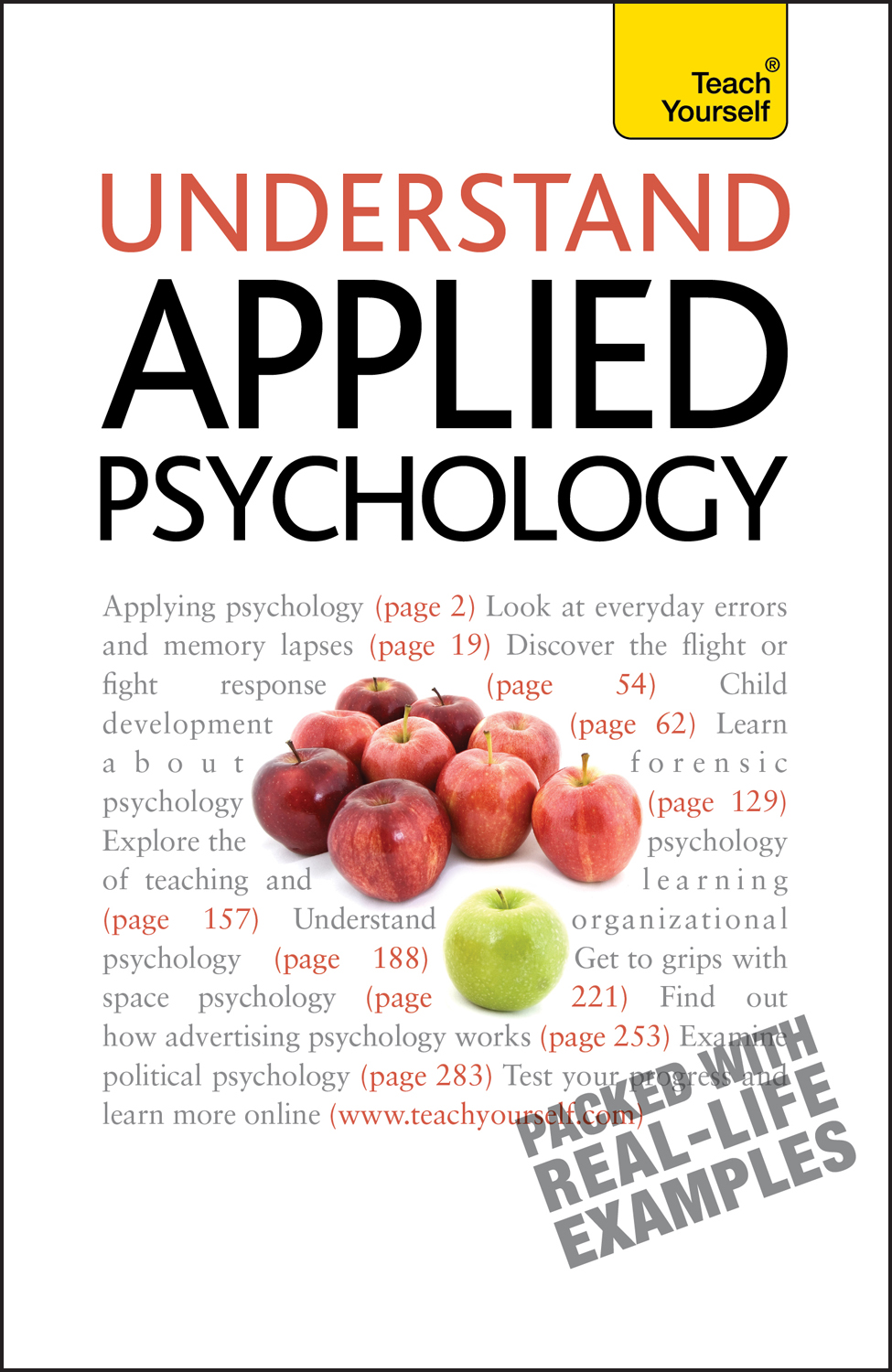 Understand Applied Psychology: Teach Yourself by Nicky Hayes, ISBN: 9781444100877