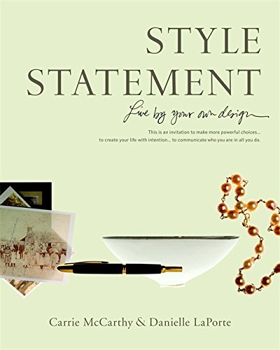 Style Statement by Danielle LaPorte, ISBN: 9780316067164