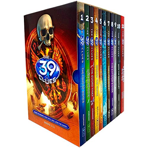 The 39 Clues Complete Collection Book 1 to 11 Pack + 66 Digital Cards (Maze o...