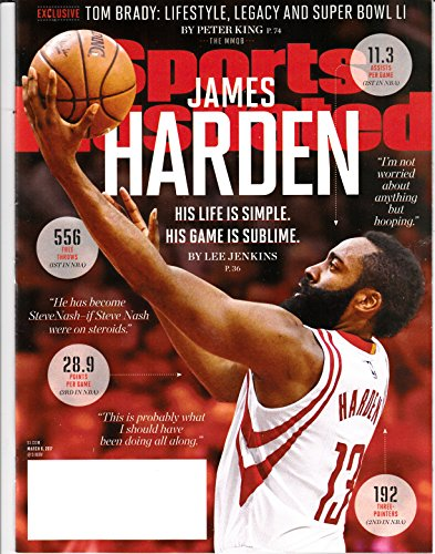 Sports illustrated James Harden Fear The Beard March 2017 by Unknown, ISBN: 0074470084365