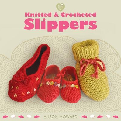 Knitted and Crocheted Slippers