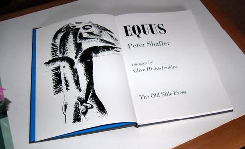 a review of shaffers play equus Literature review service {equus is a] troubling play about a psychiatrist's struggle to understand the passionately conceived but torturous personal mythology of alan, a disturbed adolescent it is a disturbing play in which shaffer makes use of sound effects to make it psychologically effective.