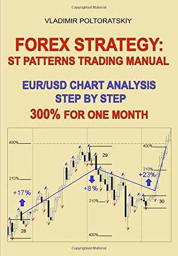 Forex Strategy: ST Patterns Trading Manual, EUR/USD Chart Analysis Step by Step, 300% for One Month by Vladimir Poltoratskiy, ISBN: 9781521780381