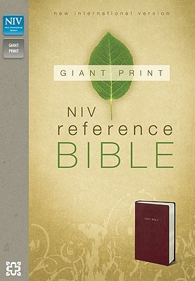 Giant Print Reference Bible-NIV by Zondervan, ISBN: 9780310435051