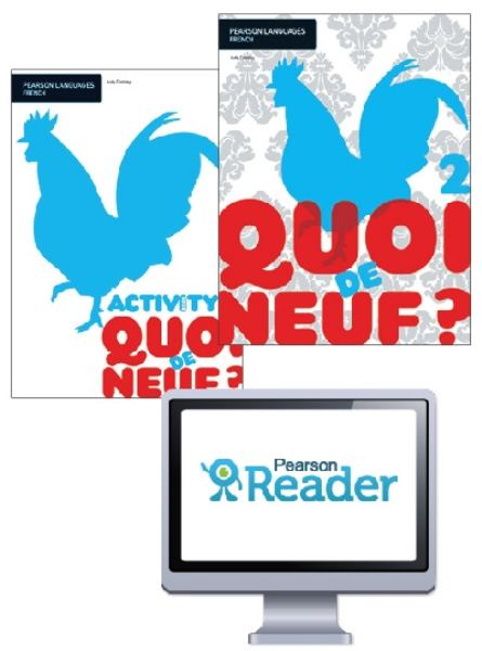Quoi de neuf ? 2 Student Book/Activity Book/Pearson Reader 1.0 Comb... by Judy Comley, ISBN: 9781442579088