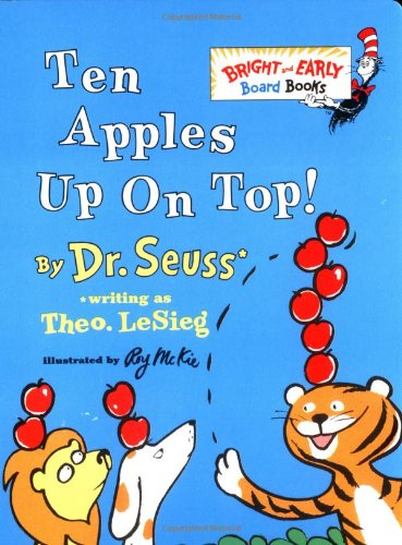 Ten Apples Up on Top! by Dr Seuss, ISBN: 9780394900193
