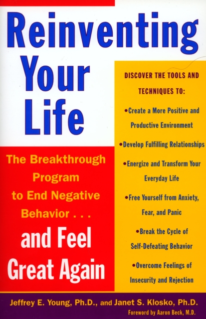 Reinventing Your Life by Jeffrey E. Young, ISBN: 9780452272040