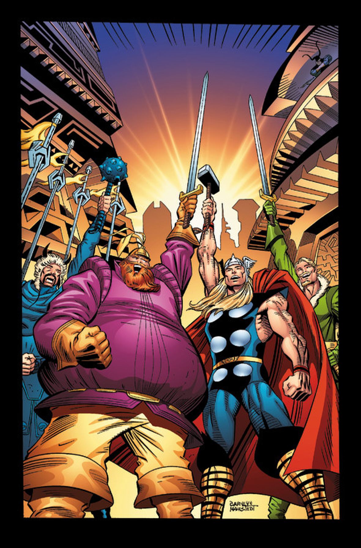 Thor: Warriors Three: the Complete Collection by Len Wein, ISBN: 9780785185284