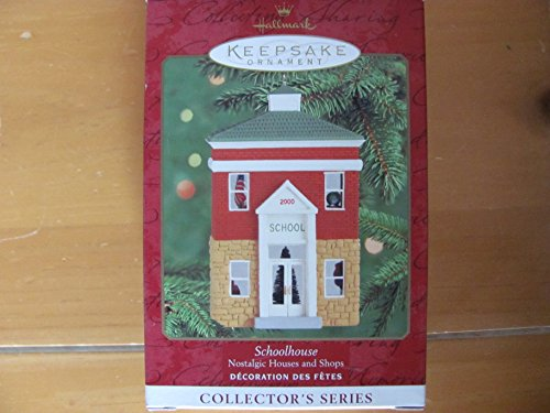 Hallmark Keepsake Ornament Schoolhouse Nostalgic Houses and Shops (2000)