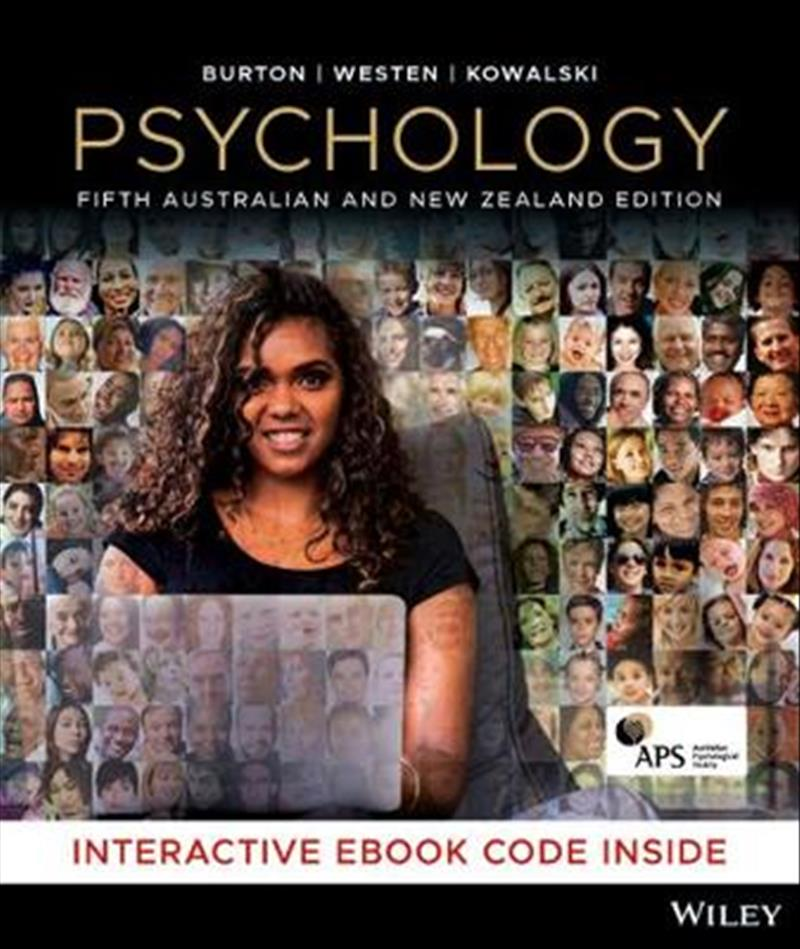 Psychology 5E Australian and New Zealand Hybrid