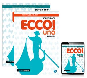 Ecco! uno Combo Pack (Student Book/ Reader+/Activity Book)